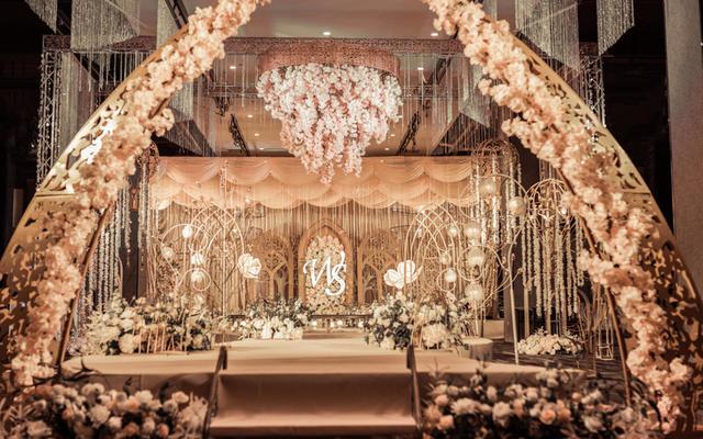 【We】唯美创意香槟色主题婚礼