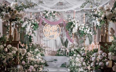 【一禧婚礼策划】粉绿色森系小清新婚礼