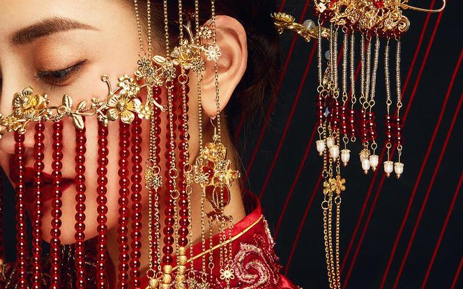 新娘早妆不跟妆 妆面造型