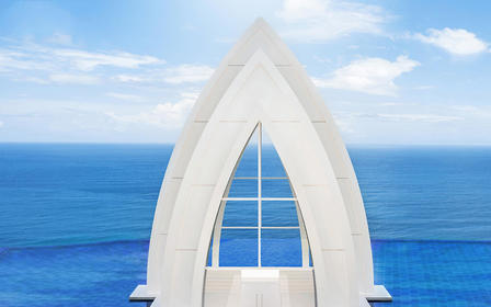【巴厘岛婚礼】梦幻教堂 海外婚礼 一价全包