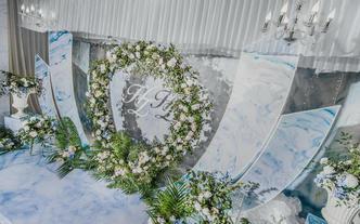 小清新婚礼之选 自然大方婚礼送首席四大