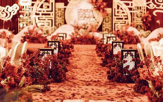 【遇一人白首】超值性价比大红色中式婚礼