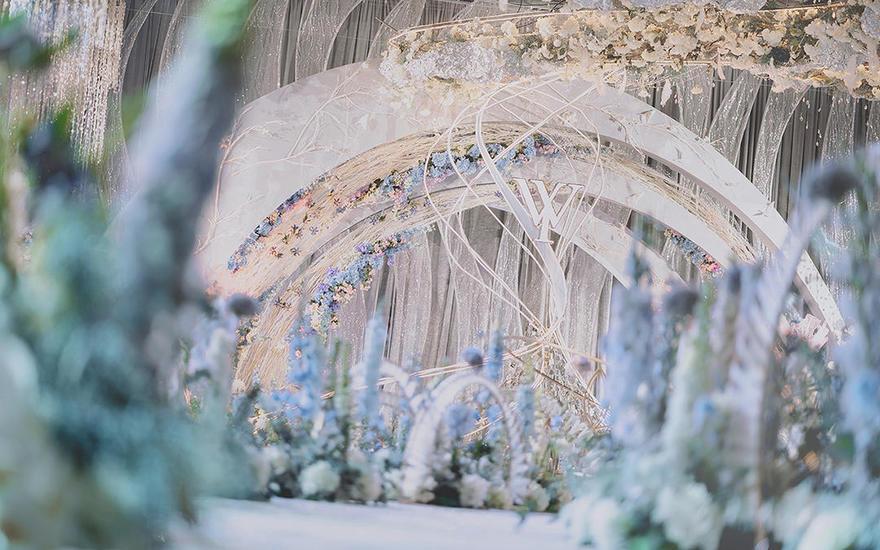 女神都该拥有的婚礼现场 | 【爱想定制】