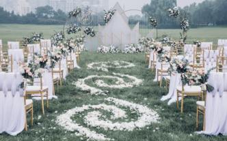 如初之光-户外婚礼,清新,典雅