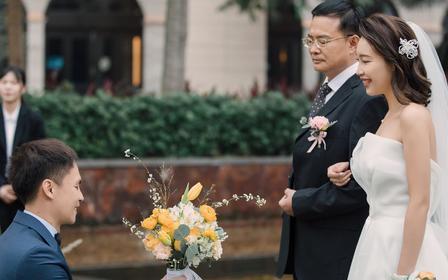 艾米丽婚礼跟拍摄影纪实(总监)
