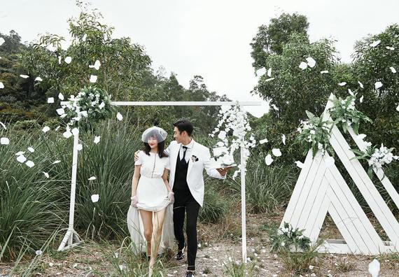 【限时五折】新故事感森系婚照/底片全送/服装任选