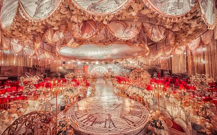 【明星同款】英伦梦幻城堡婚礼主题
