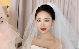 总监化妆师海南全岛新娘全天跟妆+亲友妆