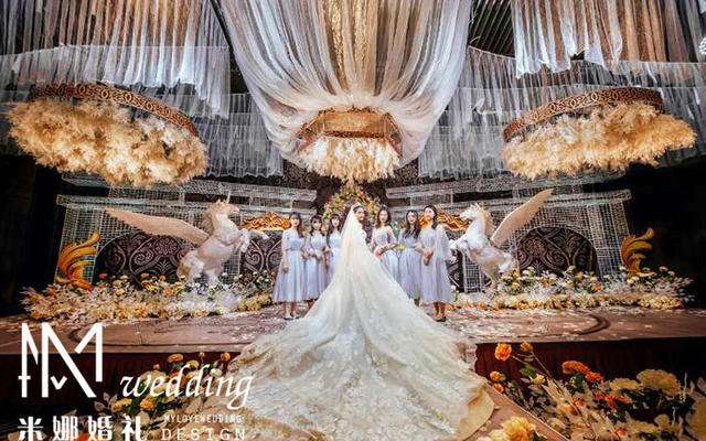 ▎MINA婚礼 ▎莫奈花园 西式新经典