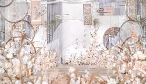 【广州白云】新中式大气雅致香槟色 定制方案