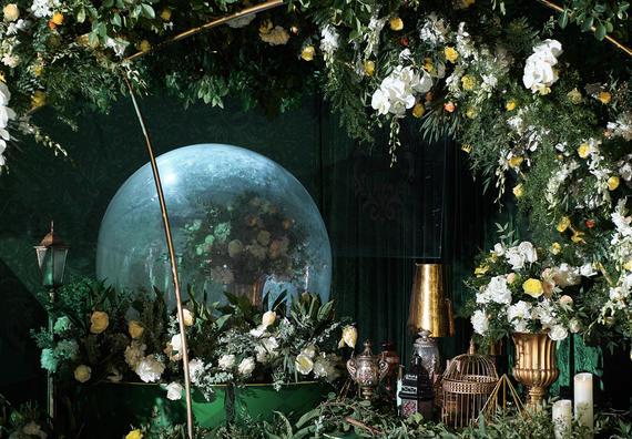 [森系主题]梦幻森林水晶球主题婚礼
