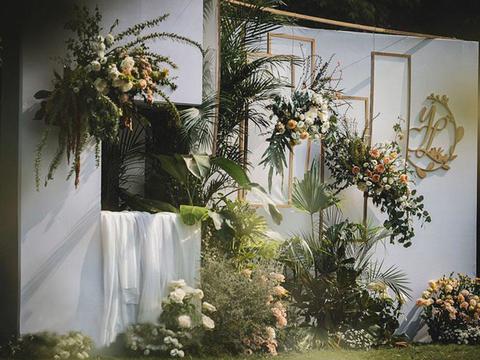 2020人气户外婚礼【白绿森系】森与你 气质灵动