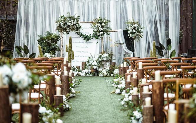 【一禧婚礼策划】森系草坪 婚礼