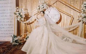 【大囍】限时抢购 贺囍新婚 婚纱礼服五件套