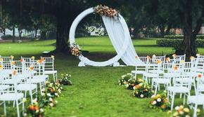 三亚 草坪 户外小清新 主题婚礼 《怦然心动》