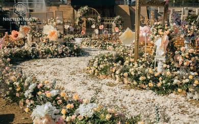 【1990婚礼企划】草坪户外婚礼-莫奈花园的午后