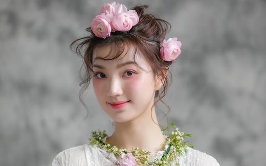 总监化妆师案例--鲜花&可爱