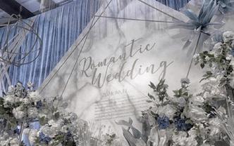 美轮美奂的一场梦幻清新婚礼