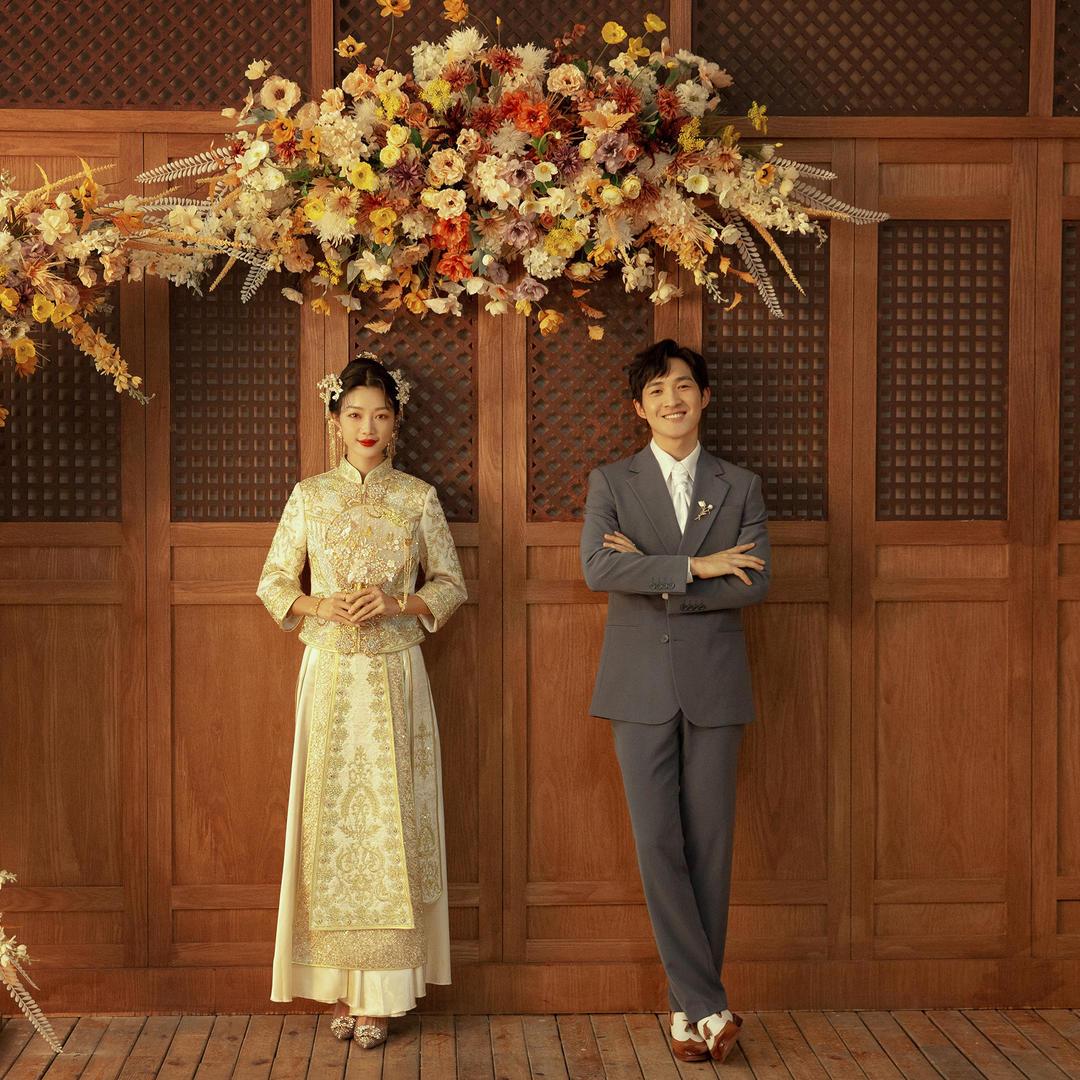 经典中式中国新娘/拍一送一/内外景畅拍