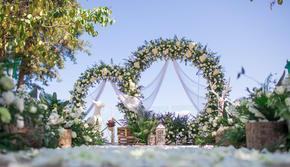 【邂逅圆满】——清新浪漫户外婚礼