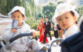 首席档双机位婚礼摄影跟拍