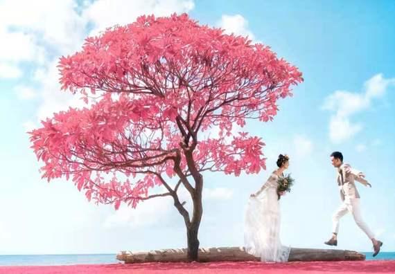 巴厘岛旅拍ღ送网红路线游玩ღ别墅酒店ღ清新轻婚纱