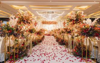 雅琼婚礼 含四大金刚 一场小型而又温馨的婚礼