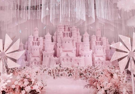 【觅境婚礼】粉色少女心婚礼 爱的城堡