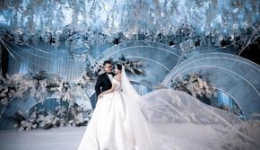 夏日专题 仙气满满的白蓝色婚礼