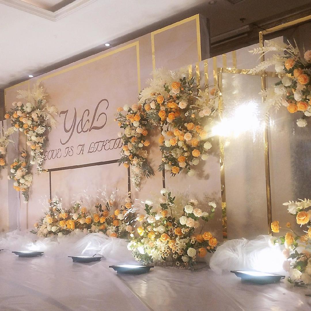 小清新香槟色婚礼-天喜印象婚礼