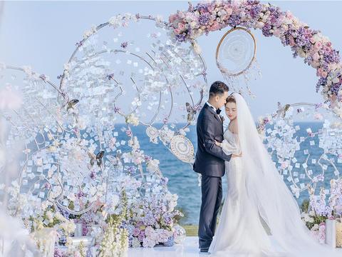 海边草坪婚礼 | 梦幻色彩之捕梦网