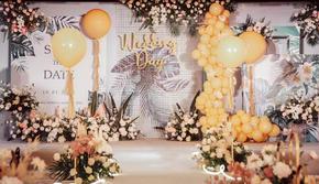 【轻奢芳华】限时超值婚礼策划布置/婚庆/婚礼墙