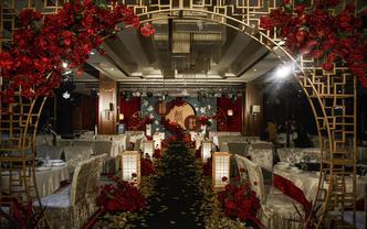 米娅婚礼19年定制红金色简约中式婚礼