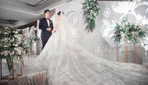 【晨蔓婚礼】白绿小定制简约婚礼