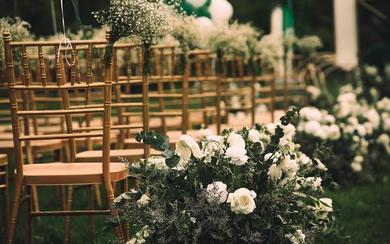 【三亚在四月海岛婚礼】户外草坪婚礼