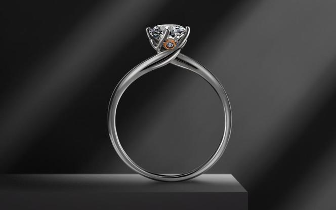梵尼洛芙-牵手  设计款求婚结婚钻戒
