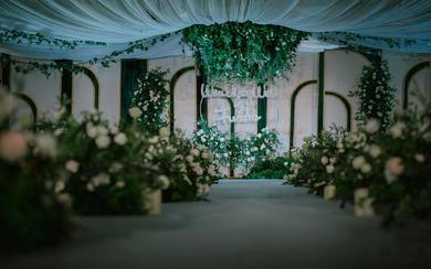 反射光婚礼---绿色森系婚礼