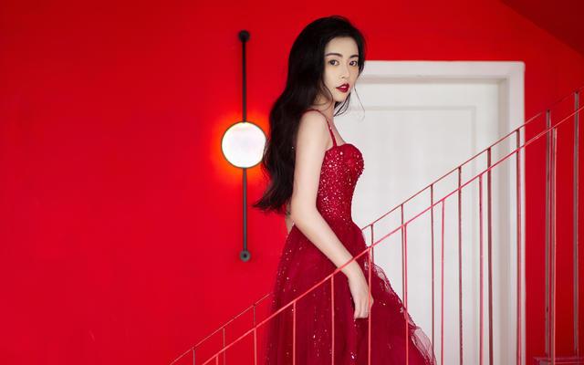 Marry Wang|新品 优雅气质型网纱敬酒服