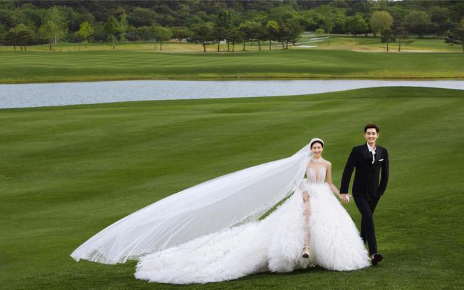 """卢塞恩花园-北京""""小瑞士"""" /高级氛围感婚纱摄影"""