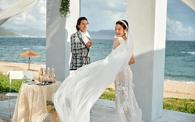 【性价高】内景+外景任选定制婚纱摄影