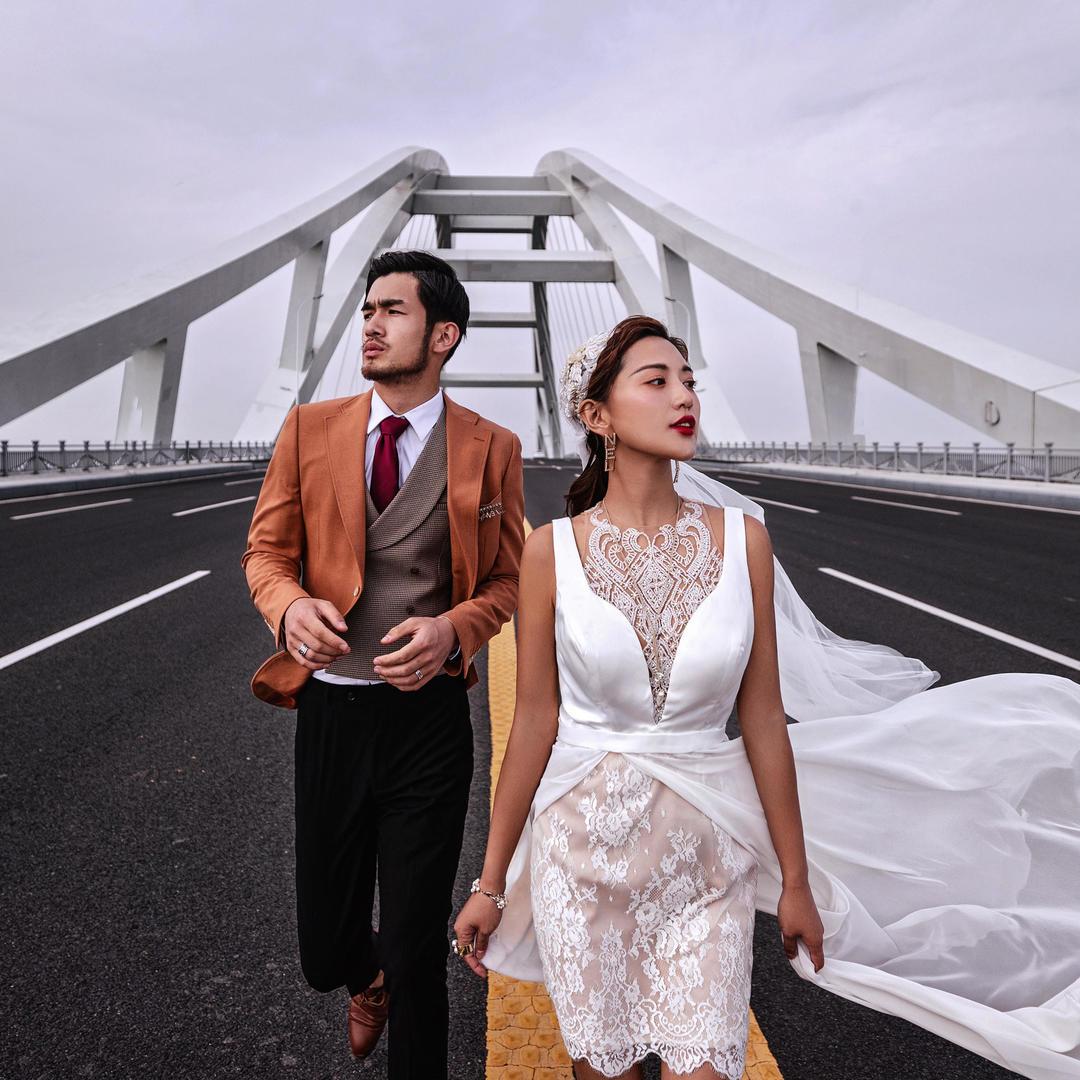 【高端定制】盘锦摩玛梦想城豪华婚纱照