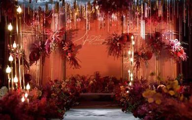 【倾城婚礼定制】大气红色系主题婚礼风格