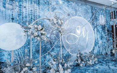 【森镁婚礼】白蓝色星空婚礼《JY》