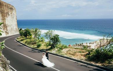 爱旅拍巴厘岛•客照欣赏•巴厘海景•孙&刘