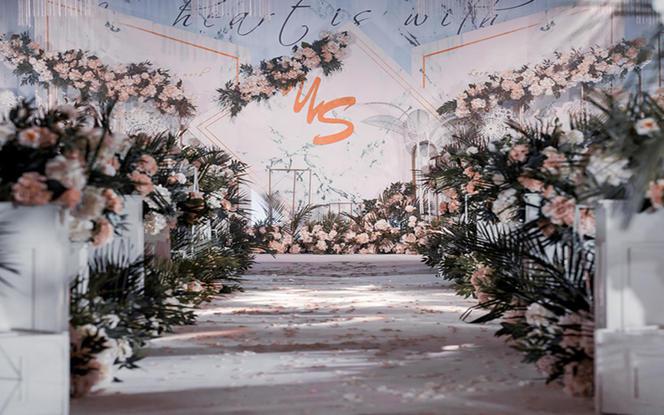 白绿小清新森系婚礼--玫瑰之约婚礼策划