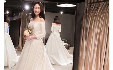 【六周年店庆】送新郎西服量身定制婚纱4套+跟妆