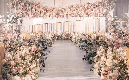 微致婚礼丨经典香槟色大气婚礼