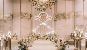 [秘境]室内暖色系同款婚礼(包含人员)