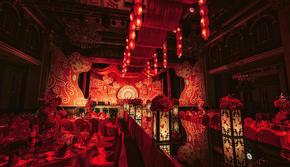 未然丨中式红色大气婚礼《灼灼》