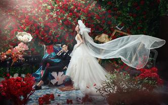 夏季婚趴节#婚照减2000元☎预约送网红拉杆箱